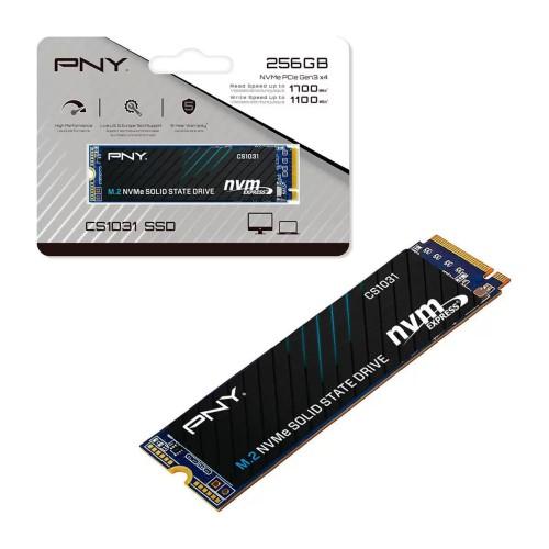 SSD 256GB M.2 NVMe PCIE 2280 1700MBPS CS1031 PNY