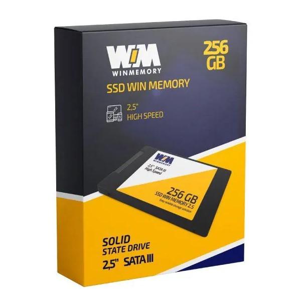 SSD 256GB SATA III 6GB/s 2.5