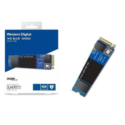 SSD 500GB M.2 NVMe 2400MB/s PCIE 2280 SN550 BLUE WD