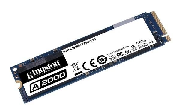 SSD 500GB M.2 NVMe PCIE 3.0 2280 SA2000M8/500G KINGSTON  - Express Informática