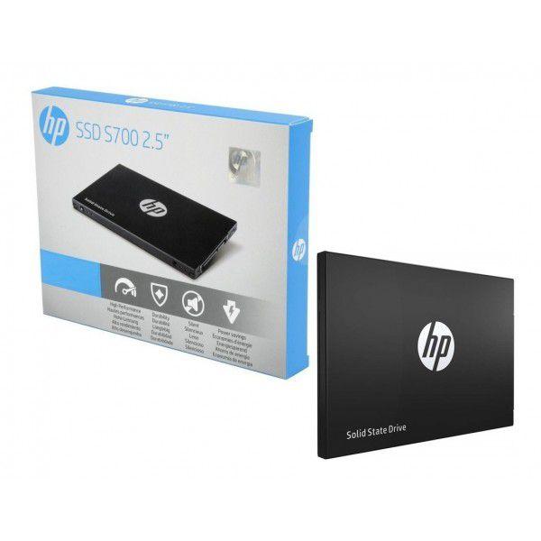 "SSD 500GB SATA III 6.0 2,5"" 3D NAND S700 HP  - Express Informática"