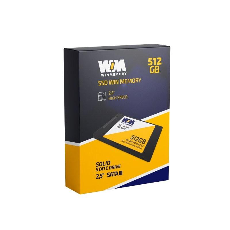 SSD 512GB SATA III 6GB/s 2.5