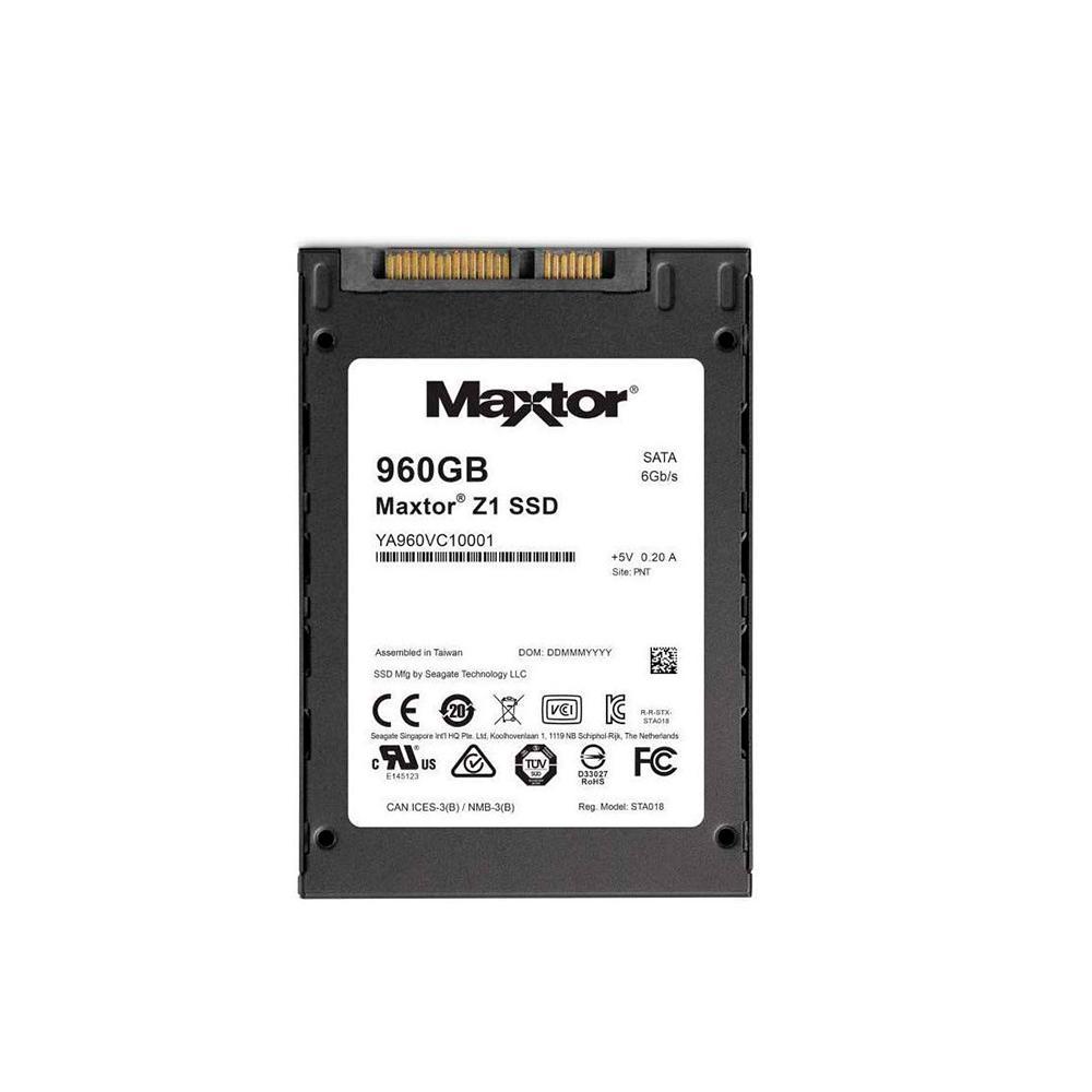 "SSD 960GB SATA 3 2.5"" 475MBPS MAXTOR Z1 SEAGATE  - Express Informática"