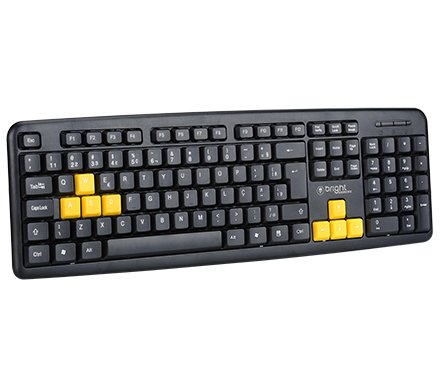 TECLADO USB GAMING BASIC 0551 BRIGHT