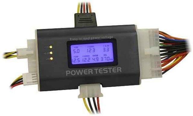 TESTADOR DE FONTE ATX DIGITAL LCD LT 615 LOTUS