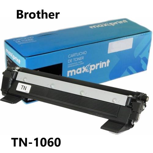 TONER COMPATIVEL BROTHER TN1060 PRETO MAXPRINT