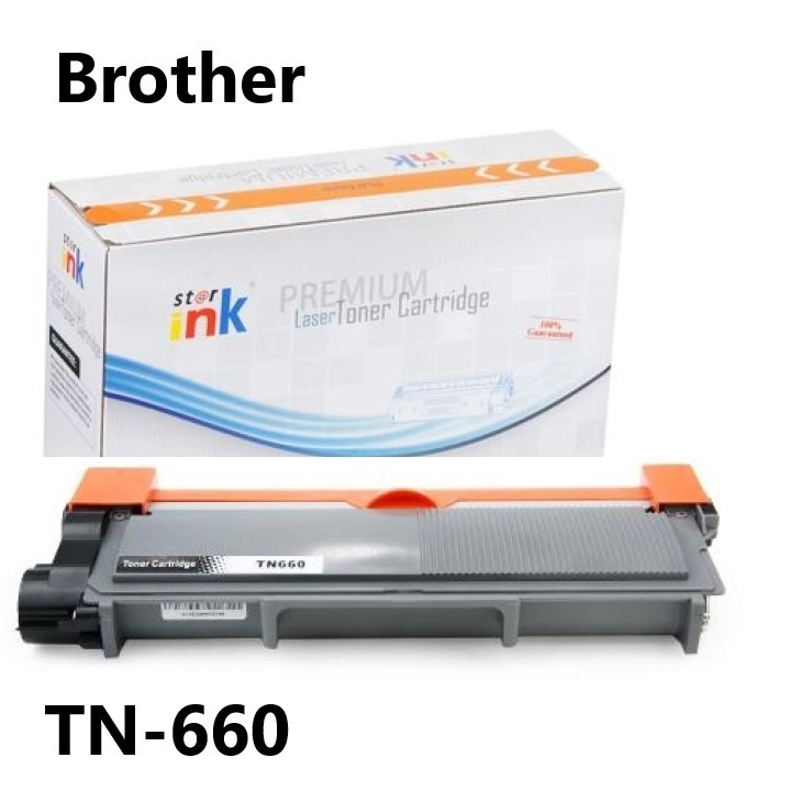 TONER COMPATIVEL BROTHER TN660 PRETO ST@R INK