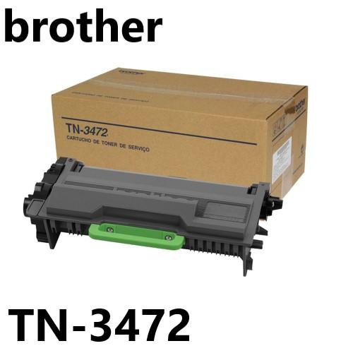 TONER COMPATIVEL BROTHER TN-3472 PRETO PATENTE FREE