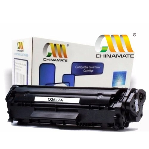 TONER COMPATIVEL HP 12A PRETO CHINAMATE