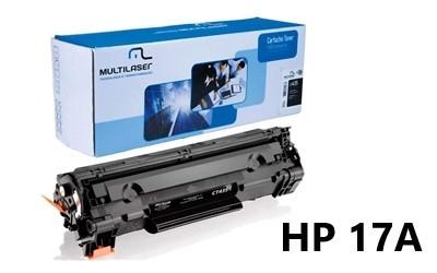 TONER COMPATIVEL HP 17A PRETO MULTILASER