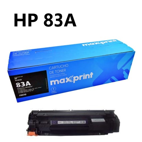 TONER COMPATIVEL HP 83A PRETO MAXPRINT