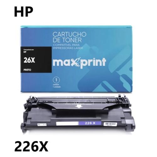 TONER COMPATIVEL HP 226X PRETO MAXPRINT