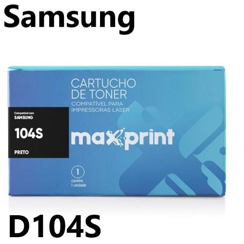 TONER COMPATIVEL SAMSUNG MLT-D104S PRETO MAXPRINT