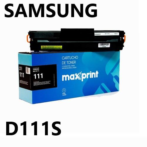 TONER COMPATIVEL SAMSUNG MLT-D111S PRETO MAXPRINT