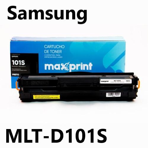 TONER COMPATIVEL SAMSUNG MLT-D101S PRETO MAXPRINT