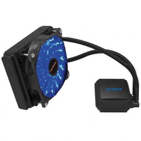 WATERCOOLER ALGOR 12CM LED AZUL AMD/INTEL MYMAX  - Express Informática