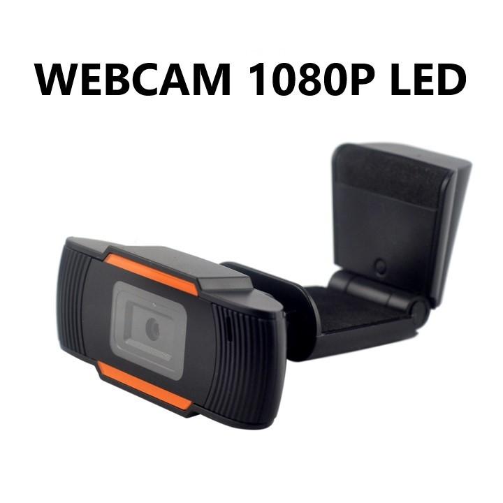 WEBCAM HD 1080P USB 2.0 FULL HD C/MICROFONE WB-01 LED TSA