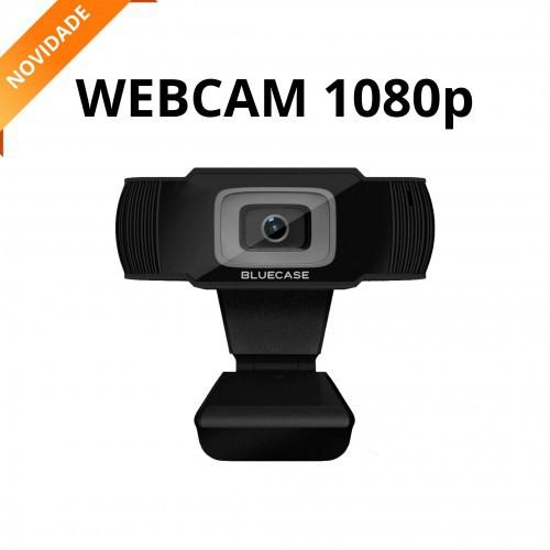 WEBCAM FULL HD 1080P C/MICROFONE USB 2.0 BLUECASE