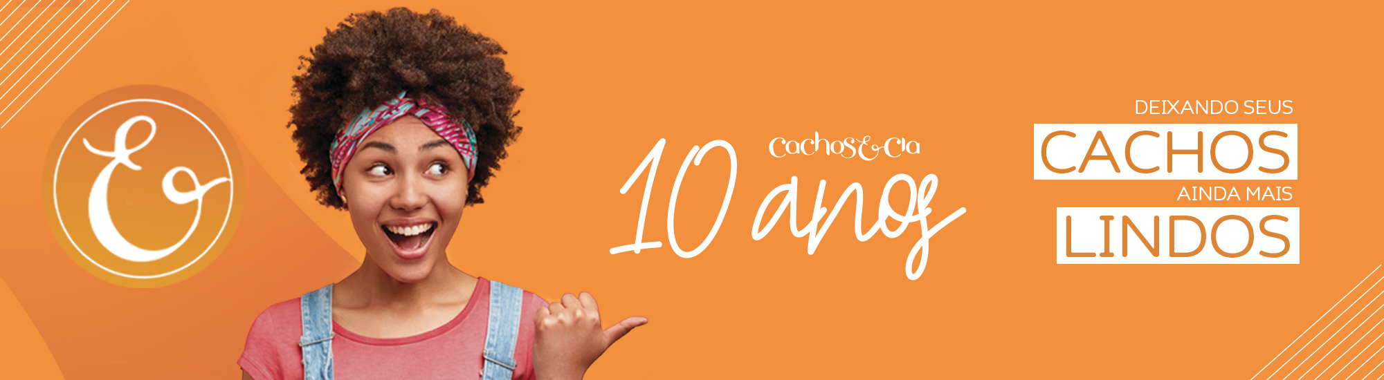 aproveite nossas promoções de aniversário!!! 10 anos cachos & cia