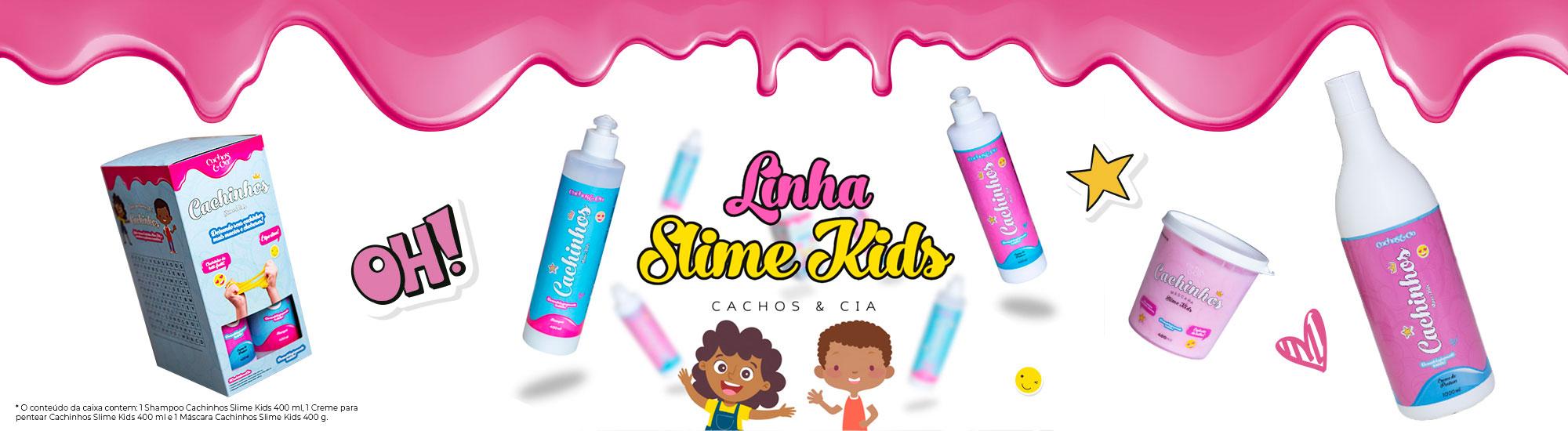Banner Produtos Slime kids