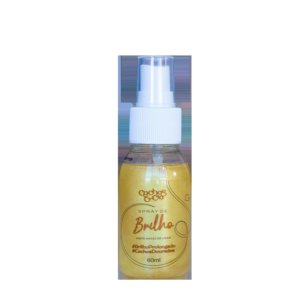 Spray de Brilho Cachos Dourado