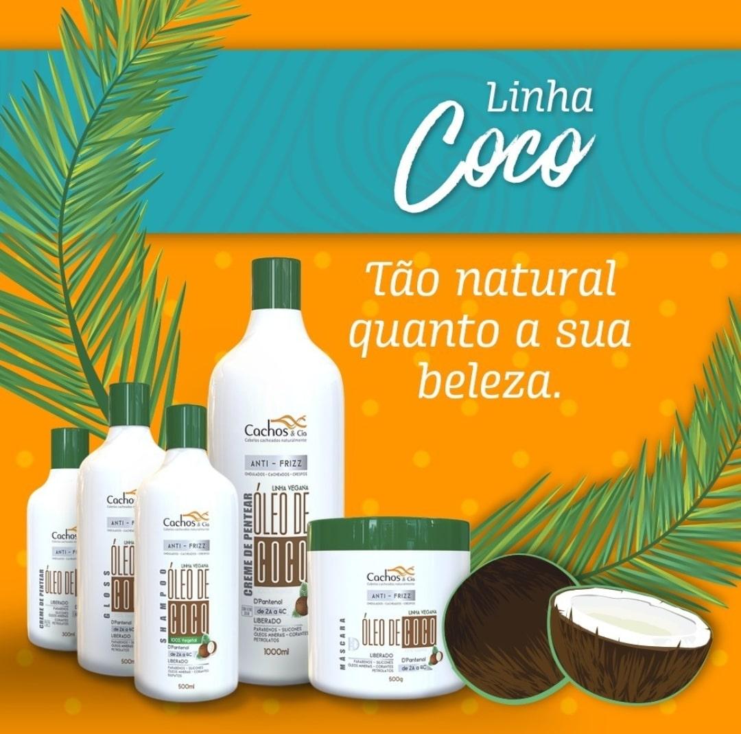 Gloss de Coco & D'Pantenol Vegano e Liberado 500ml