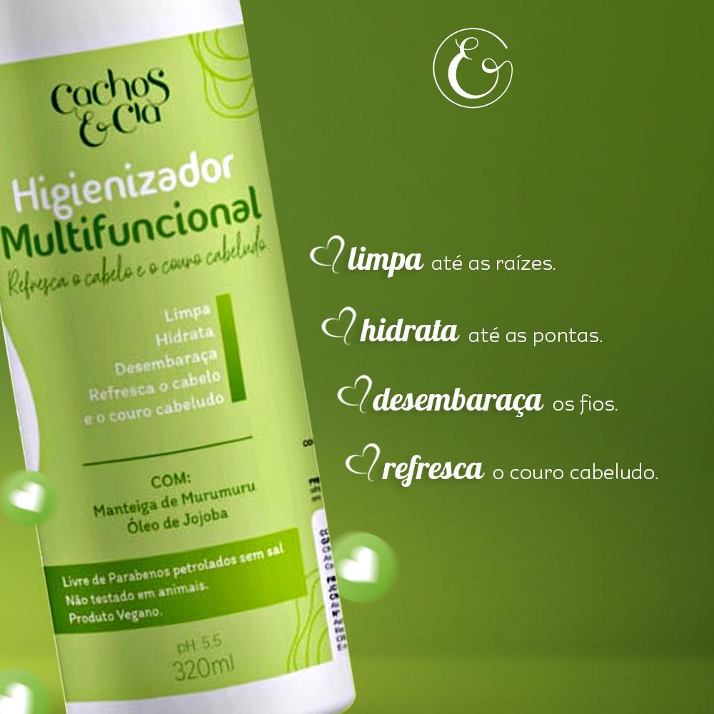 Higienizador Multifuncional Co-Wash Vegano - 320ml