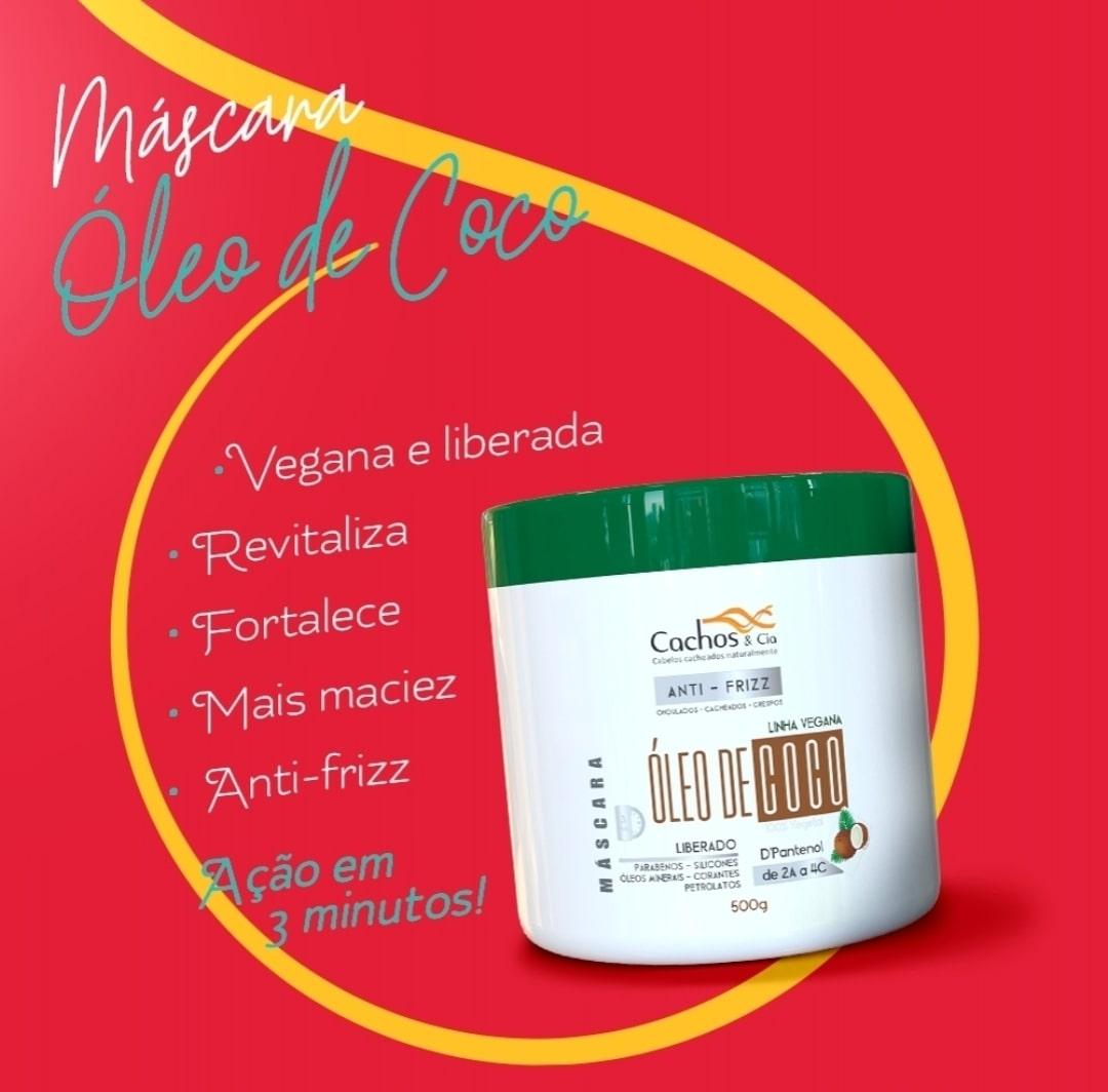 Máscara  de Coco & DPantenol - Vegana - Liberada 500gramas