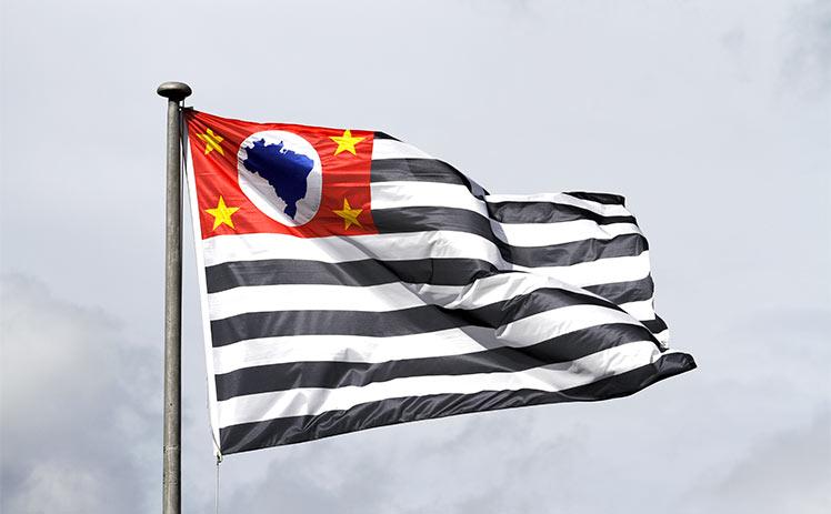 Bandeira Estado de SP