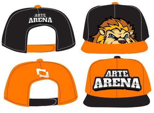 9c025a2df9b1a Boné Personalizado - Arte Arena