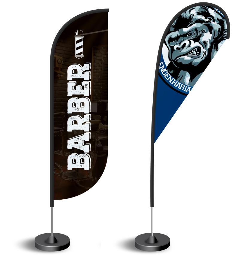 Wind banner / Flag banner Personalizado