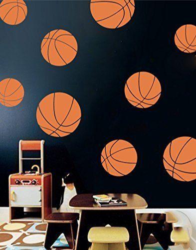 Papel de Parede Basket Ball - Vinílico Autocolante