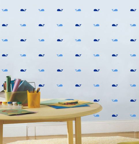 Papel de Parede Whales - Vinílico Autocolante