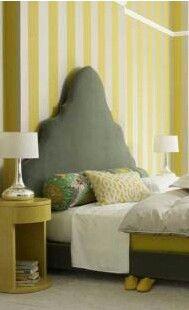 Papel de Parede Vinílico Autocolante Yellow Elegance