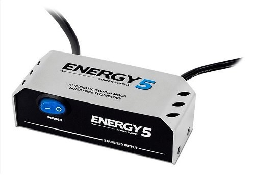 Fonte Pedal 5 Pedais Landscape Energy E5 9v Bivolt 1000ma