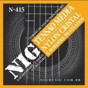 Encordoamento Violão Nylon Média NIG N415