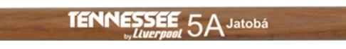 Baqueta Tennessee Jatobá Liverpool TNJAT-5AM