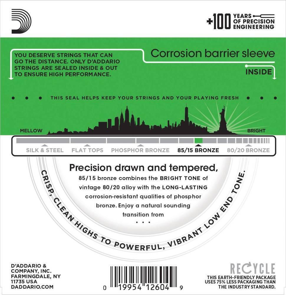 Encordoamento Violão Aço 0.09 Super Light Daddario EZ890-B