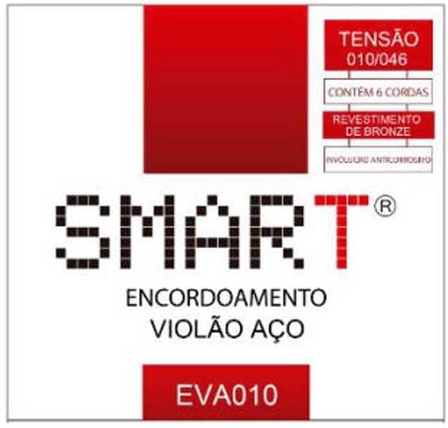 Encordoamento Violão Aço 0.10 Smart EVA010