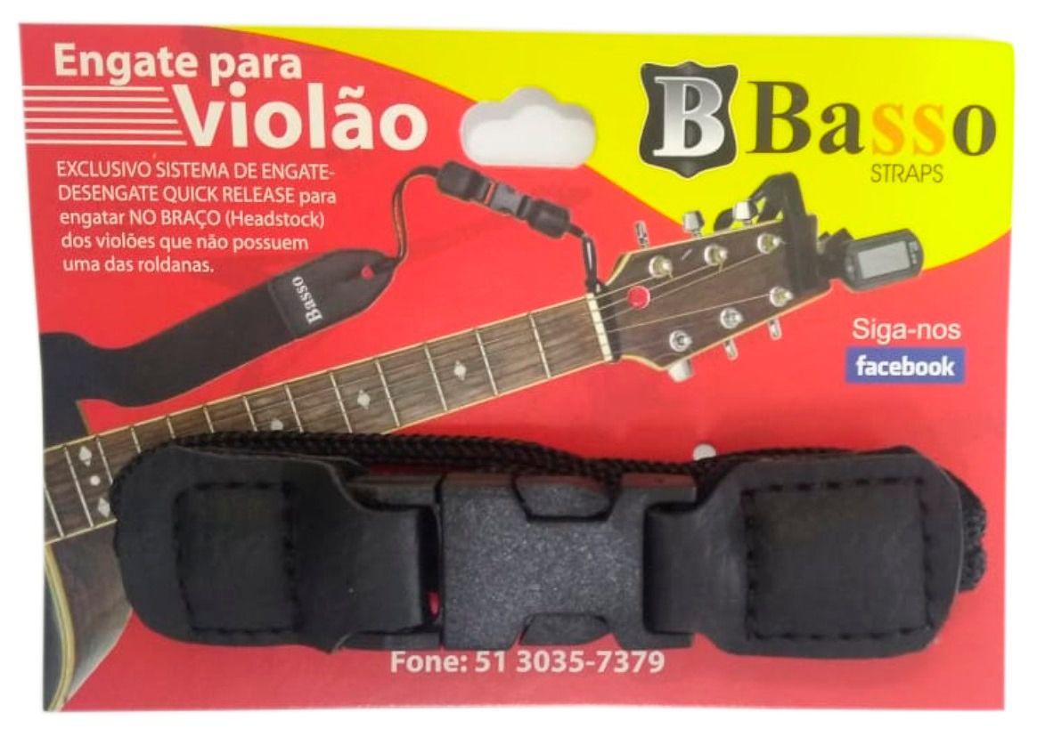 Engate Rápido Basso Quick Release Para Correia De Violão