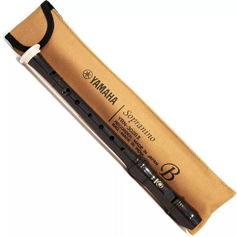 Flauta Yamaha Sopranino Barroca Yrn-302 Bii Com Corpo Abs