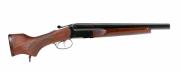 Espingarda A-680-14 - Com Pistol Grip e Telha em madeira – Acabamento Standard – Oxidado