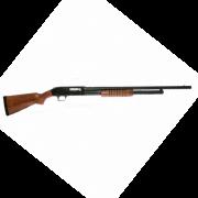 Espingarda BSA  84 PUMP cal 12 com coronha de madeira - Oxidada
