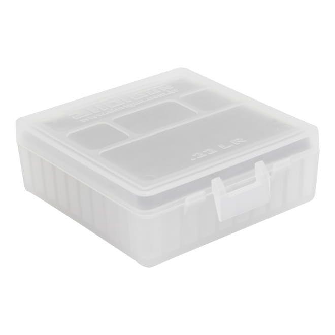 CAIXA PARA MUNIÇÃO BOX 100 - .22LR - BRANCA