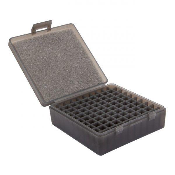 CAIXA PARA MUNIÇÃO BOX 100 - .22LR - FUMÊ