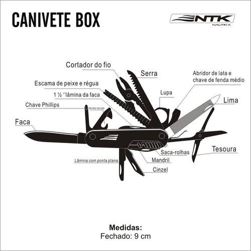Canivete Box