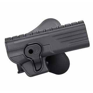 Coldre Externo Glock G17, G34 e G35 - Cytac - CY-G34