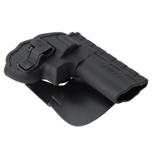 Coldre Revolver I Paddle Destro – Preto