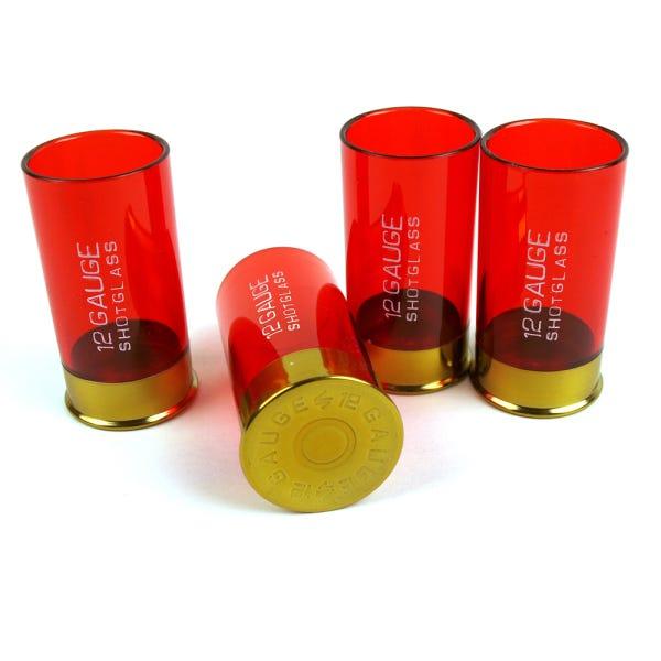 Conjunto com 4 Copos de Shot Calibre 12