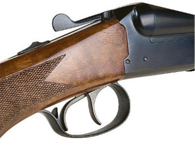 Espingarda A-680 Cal. 12, 20, 28 - Com Coronha e Telha de Madeira – Acabamento Standard – Oxidado